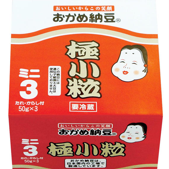 タカノフーズ おかめ納豆 極小粒 50g×3 (93円)