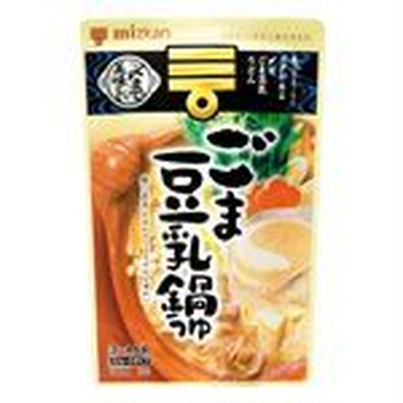 ミツカン 〆まで美味しい ごま豆乳鍋つゆ ストレート 750g