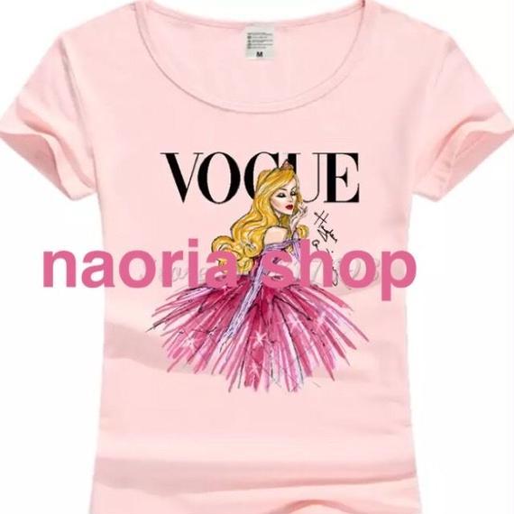 即納   プリンセスピンクTシャツ