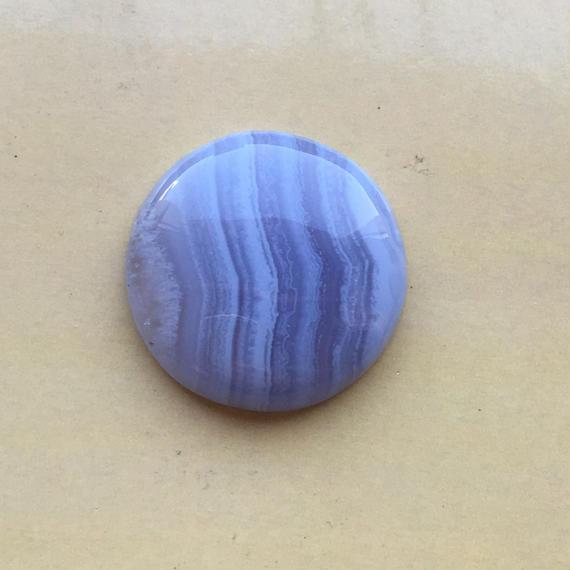 ブルーレースアゲート(No.1)/天然石ルース(裸石)