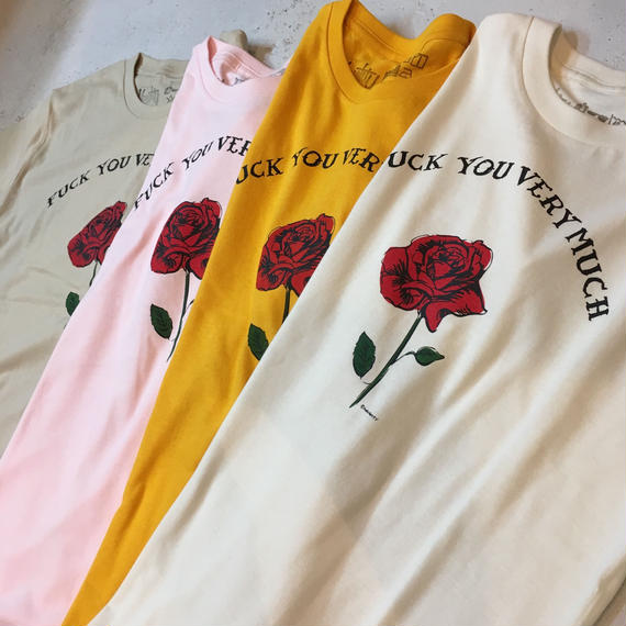 FUCK YOU VERY MUCH S/S Tee