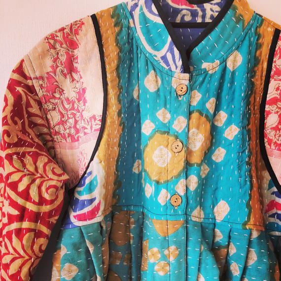 KANTHA SHORT JACKET-sb