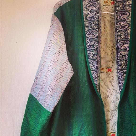 kantha kimono jacket for summer