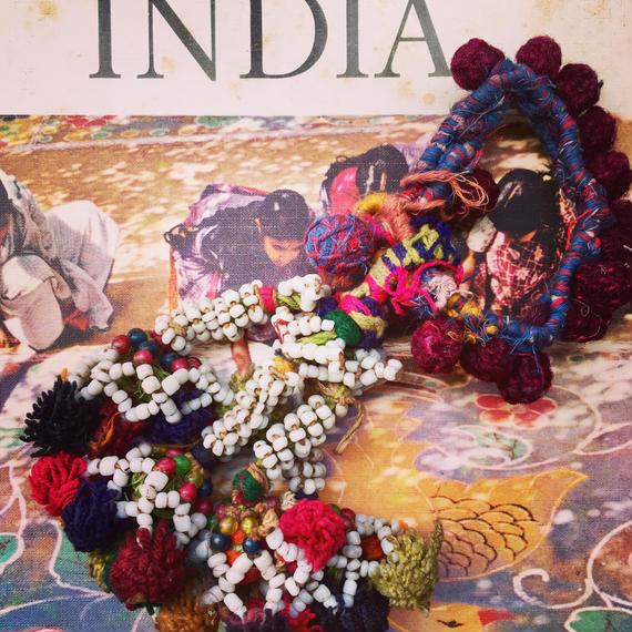 送料無料◆ Rajasthan ponpon