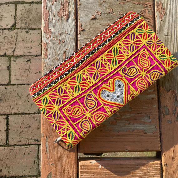アフガニスタン刺繍  長財布
