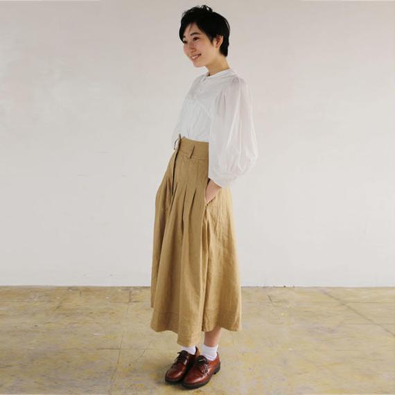 【サンプル】前あきステッチスカート