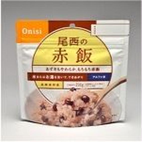 アルファ米赤飯 (1箱50袋入)