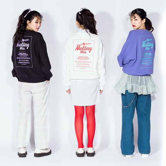 Melting Mix Sweat Shirt