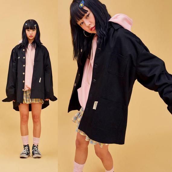 D Oversize Jacket (Black)