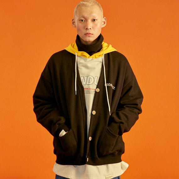 [ND] Cotton Cardigan (Black)