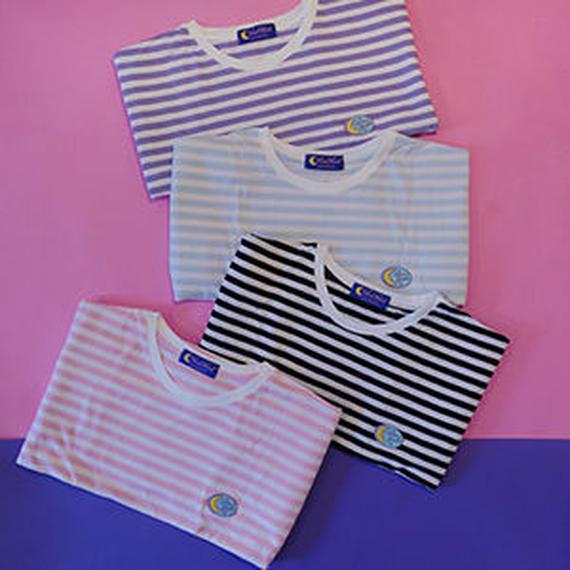 (L)Stripe T-shirt
