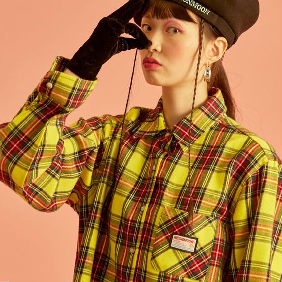 18W Check Shirt (Yellow)