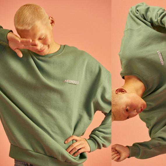 [ND] 18W Sweat Shirt (Khaki)