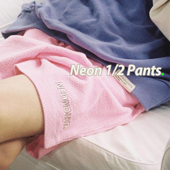 NEONDUST. Neon 1/2 Pants