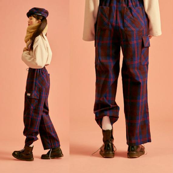 18W Check Pants (Blue)