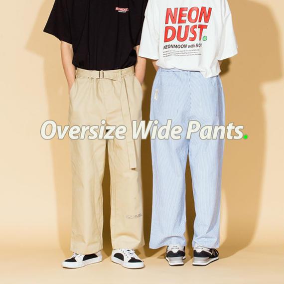 NEONDUST. Oversize Wide Pants