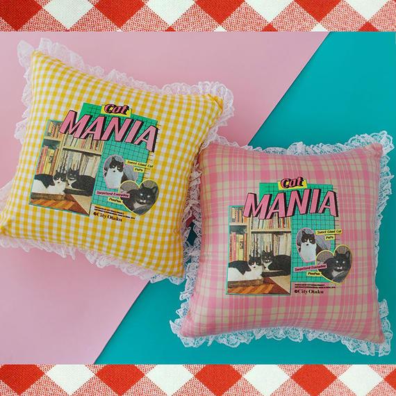 [CITY OTAKU Project] Cat Mania Cushion