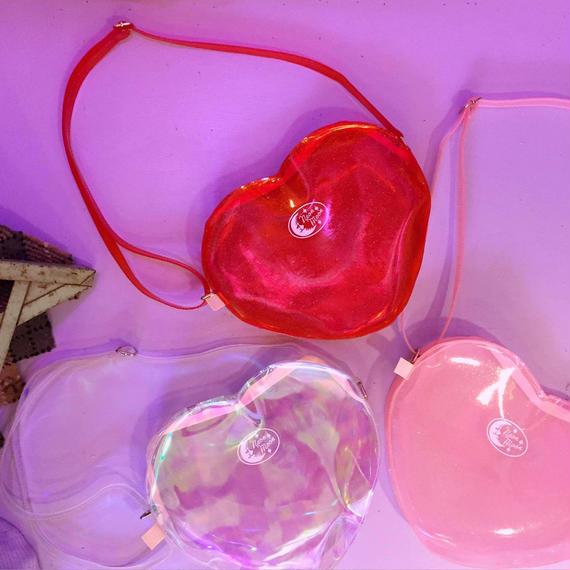 ラメラメ HEART BAG