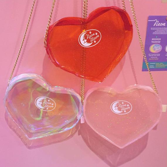ラメラメ Mini HEART チェーンBAG