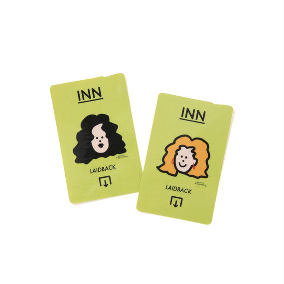 aimi odawara × INN|IC CARD STICKER