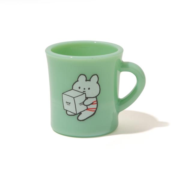 【2019年2月再入荷予定】きっこうちゃん × Olde Milk Glass × INN|MUG