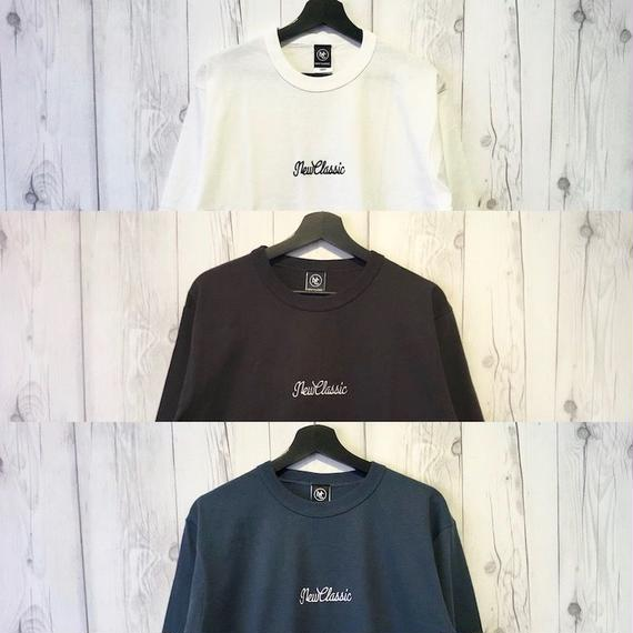 7 Parts Sleeve T-Shirt [Cursive Logo]