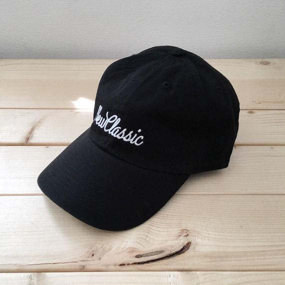 6 panel Cap [Cursive Logo] (2 color)
