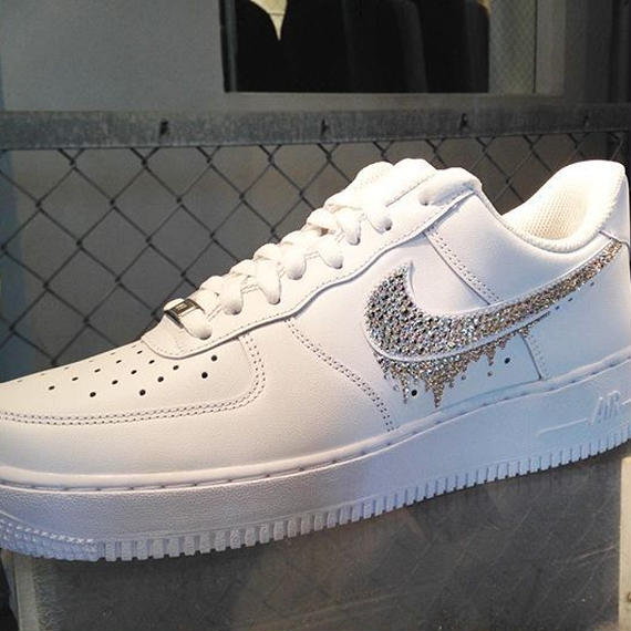 NIKE AIR FORCE1  CUSTOM(white)