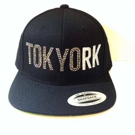 TOKYORK custom スナップバックCAP BKD