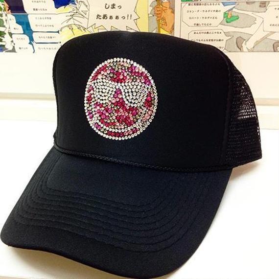 back face  メッシュCAP pink ver