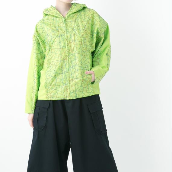 【19S/S 受注予約商品】RGB Parka (PURPLE , YELLOW GREEN , BLACK)