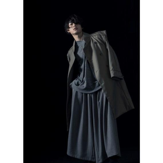 【2018-19A/W Collection 受注予約商品 ワイドタックパンツ】