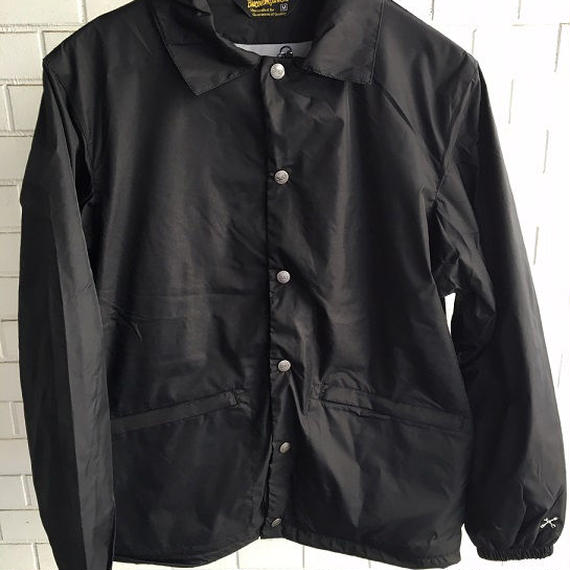 BLUCO(ブルコ)COACH JACKET BLK