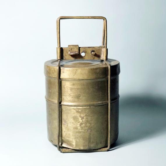 茶籠 インド弁当箱見立