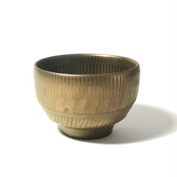 Yutaka Ono - 小野 穣 ブロンズ彩 茶碗  002
