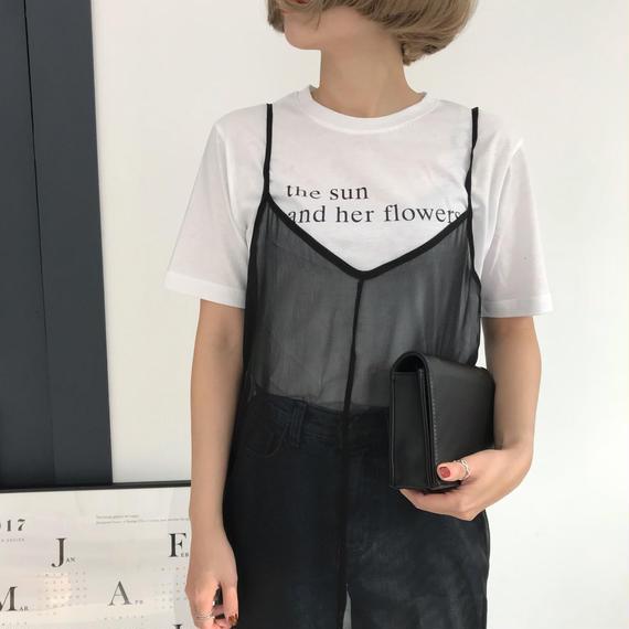 * 予約販売*レタリングTシャツ