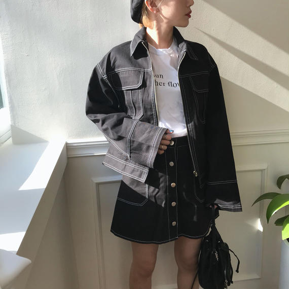 ✳︎予約販売✳︎ステッチSETUP/ブラック