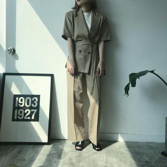 ✳︎予約販売✳︎ リネンSETUP/ベージュ