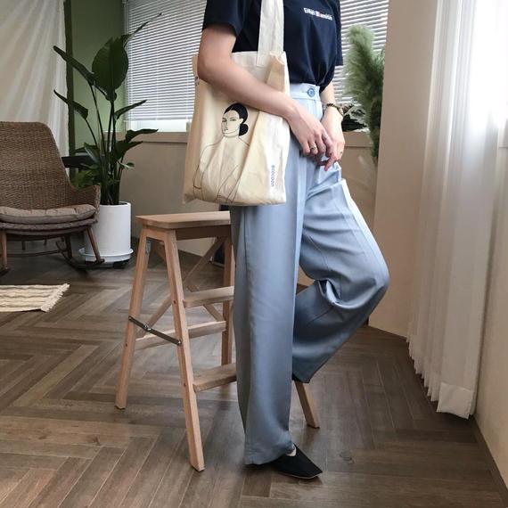 シルキーワイドパンツ/ソラ