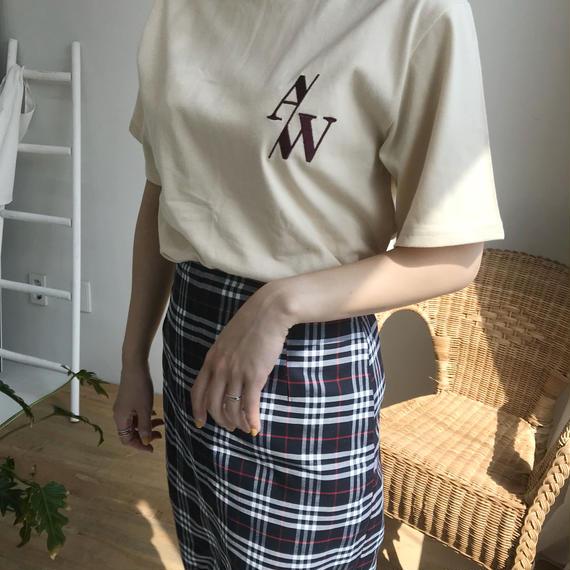 * 予約販売*A/W T-shirt/ベージュ
