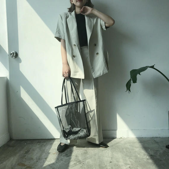 ✳︎予約販売✳︎ リネンSETUP/ライトベージュ