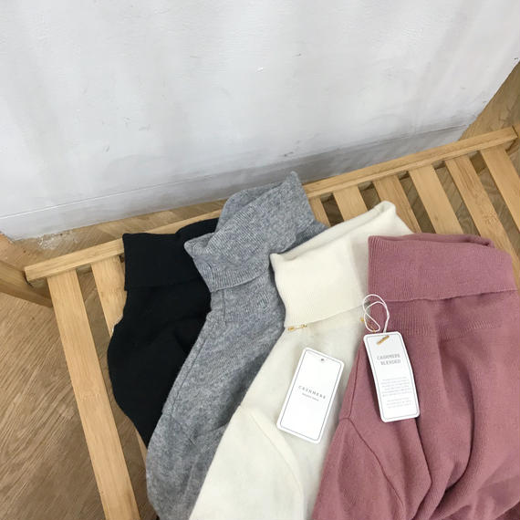 ✳︎予約販売✳︎cashmere blend knit/4colors
