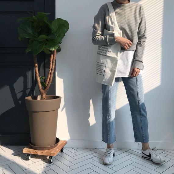 ミニトレーナー&タンクシャツSET/グレー