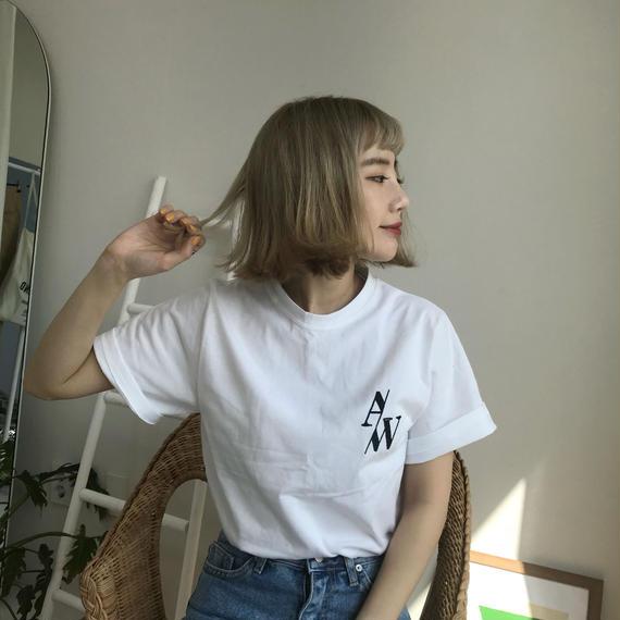 * 予約販売*A/W T-shirt/ホワイト