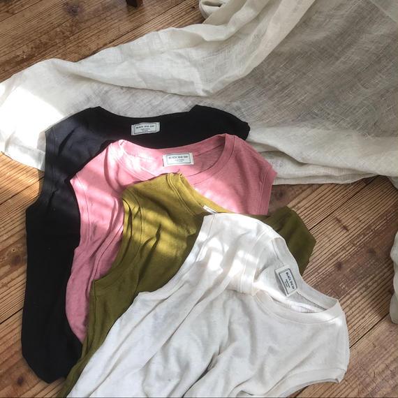 ✳︎予約販売✳︎ミニマルリネンタンク/4colors
