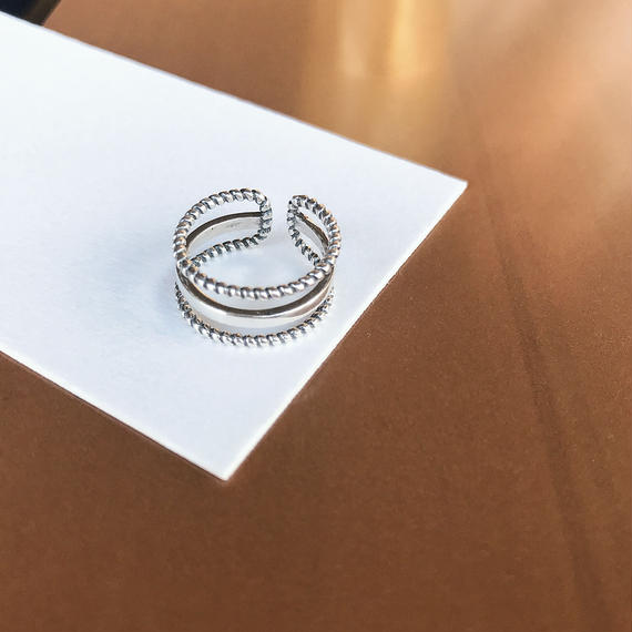 *予約販売*SILVER925 Design Ring