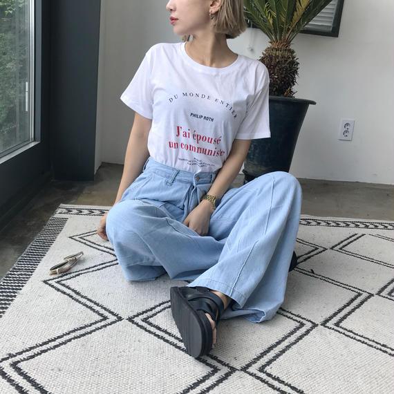 """PHILIP ROTH""T-shirt"