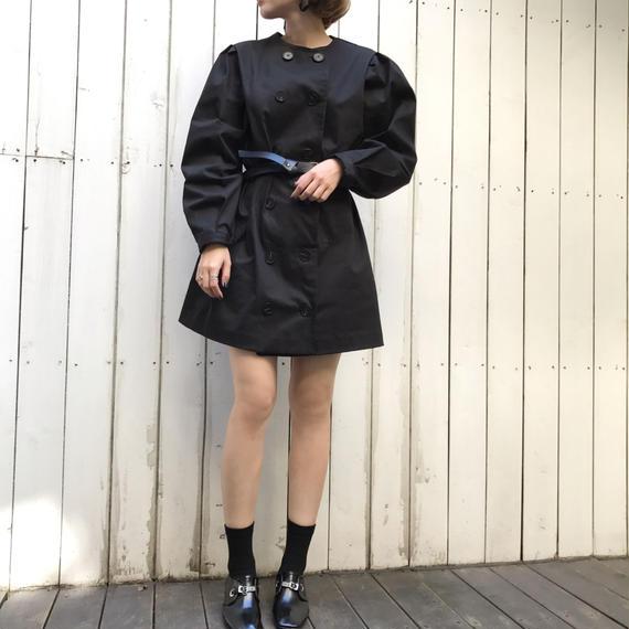 ベルトSETトレンチワンピース / ブラック