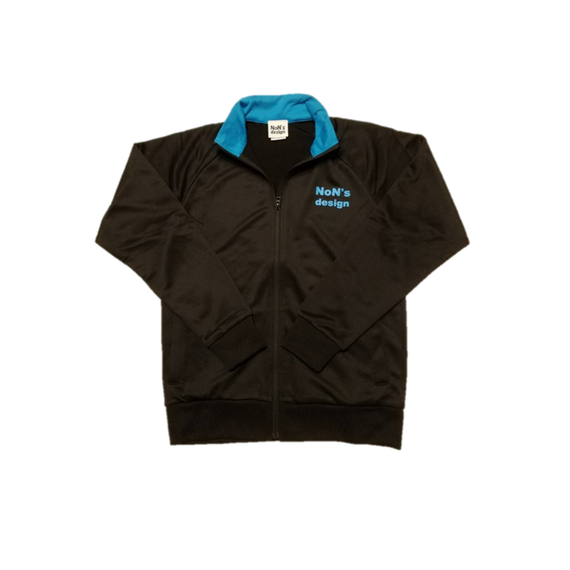Dry Fit Truck Jacket(Black&Blue)