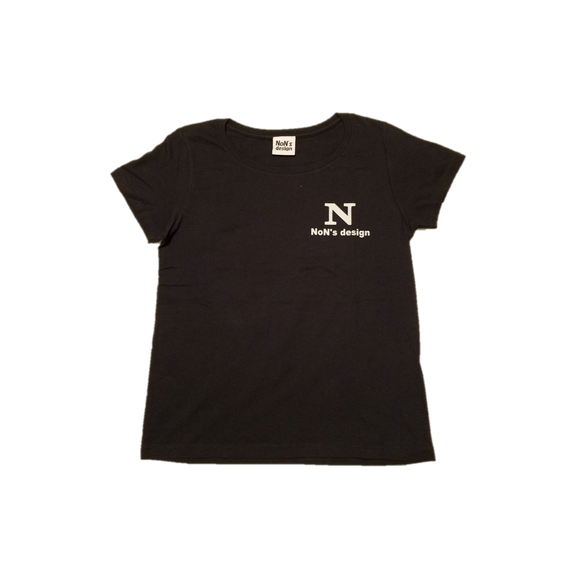 Lady`s-N Logo Fit T-shirt(Navy)